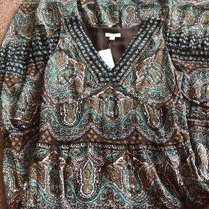 💯Silk Maxi Dress